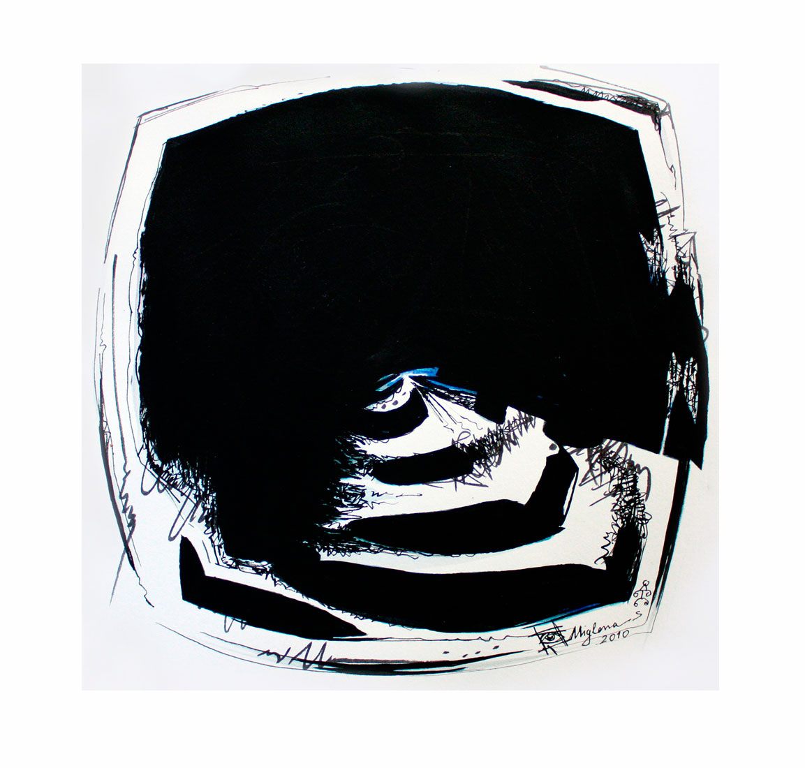 introspection IV, 2010, 20x20 cm.