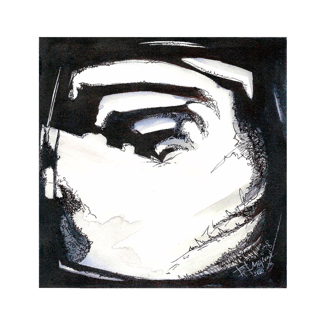 introspection V, 2010, 20x20cm.