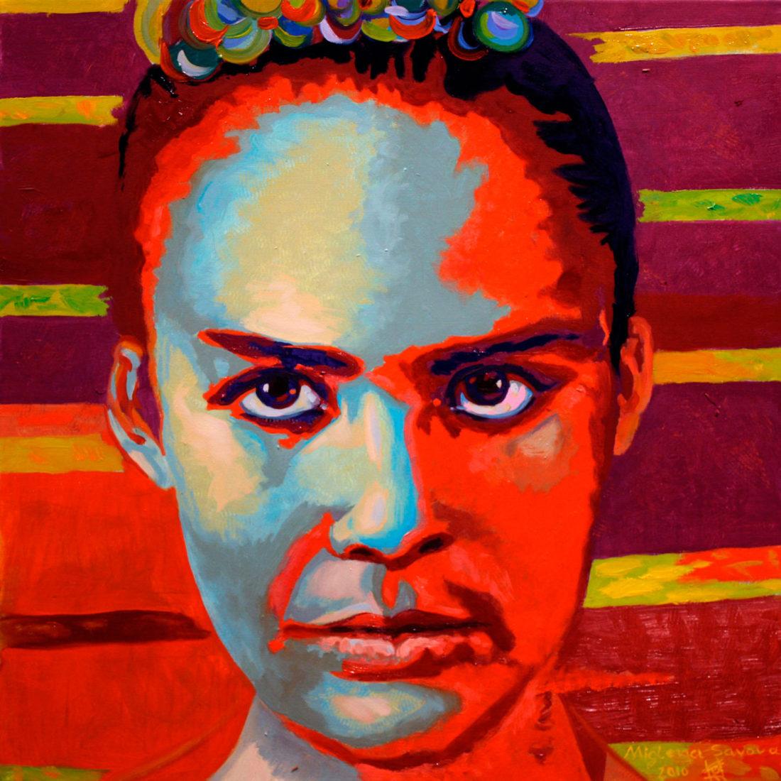 mona lisa II, 2010, 50 x 50 cm