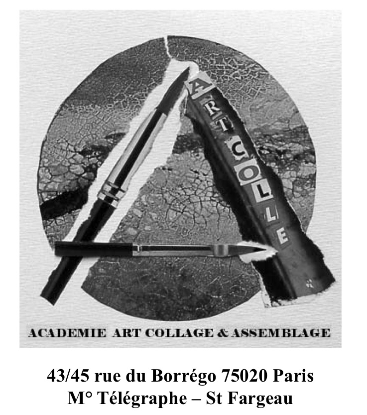 exposition 16 contemporary art collage, paris, 30.03 - 08.04.2009