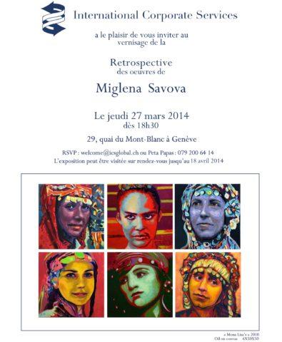 exposition rétrospectiv 2014, Geneva